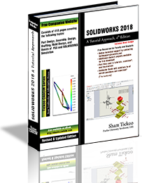 SOLIDWORKS 2018 Tutorial Approach textbook